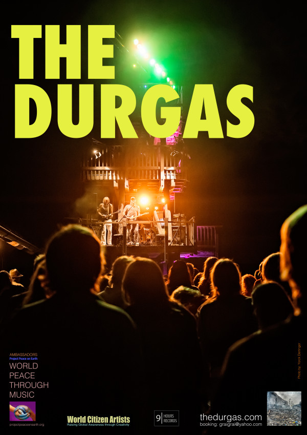 The Durgas_ tour poster summer 2016 _ A2 size